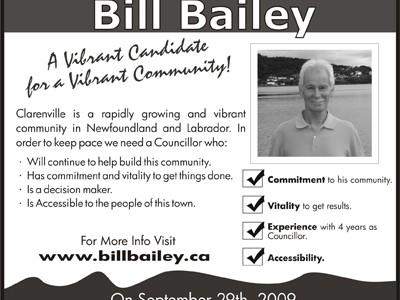 Bill Bailey Campaign