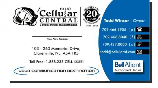 Cellular Central
