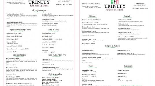 Trinity Take Out
