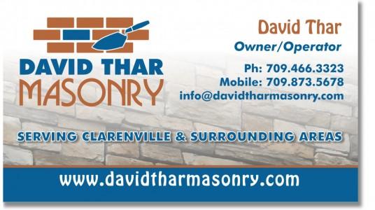 David Thar Masonry