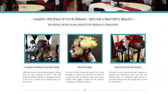 Fairytales Wedding Decorating