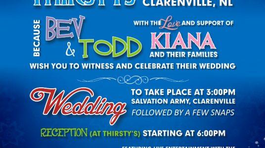 Winsor Wedding Invitation