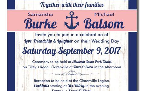 Burke/Balsom Wedding