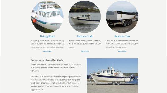 Manta Ray Boats