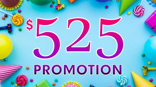 525 Promotion – Perfect for the Small Business Owner